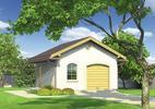 Projekty garaży i wiat jednostanowiskowych